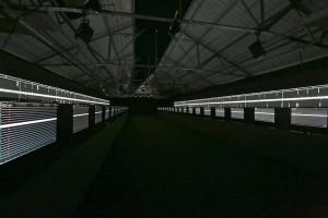 Ryoji Ikeda. Supersümmeetria. 2015, audiovisuaalne installatsioon.