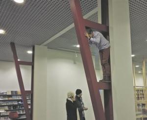 Mis tunne on olla arhitektuur? Arhitektuurikooli õpilased proovisid selle järele.