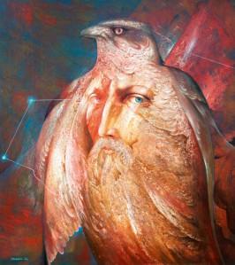 """Anatoli Strahhovi maal """"Looduse hing II""""."""