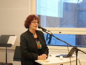 Anne Erm Vilistlaskogu üldkoosolekul