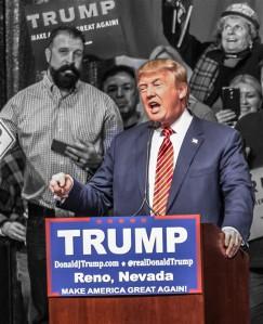 Reaktsiooniliste vaadetega miljardär Donald Trump soovib saada USA presidendiks. Trump on noppinud vabariiklaste eelvalimistel ühe ülekaaluka võidu teise järel.