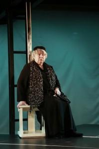 """Maria Klenskaja kandideerib naiskõrvalosa auhinnale rollidega lavastustes """"""""Delhi"""" tants"""" (Theatrum, pildil),   """"Viimasel minutil"""" ja """"Tartuffe"""" (mõlemad Eesti Draamateater)."""