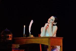 """Luana Georg sai balletiauhinna Tatjana rolli eest  Eesti Rahvusballeti lavastuses """"Onegin""""."""