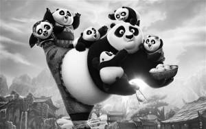 """Tasakaal lääne ja ida vahel. """"Kung Fu Panda 3"""" on esimene USA ja Hiina  koostöös valminud täispikk animafilm."""