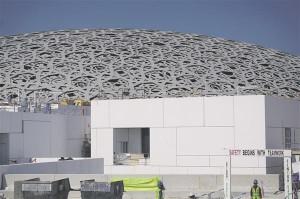 Euroopa kultuuri sisseostmine ja araabia omaga segamine võib anda üllatavaid tulemusi. Jean Nouveli loodud Louvre Abu Dhabis.