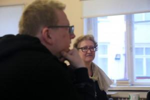 Tristan Priimägi ja Heie Treier.