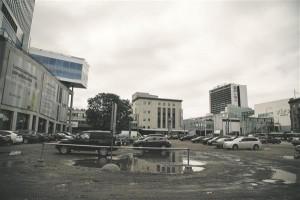Kas kesklinna tühjad krundid sobivad ainult parkimisplatsideks?