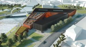 Tartu ülikooli IT-keskuse arhitektuurse lahenduse võitis töö ICONICUM