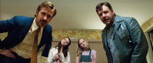 """""""Heade tüüpide"""" detektiivid Jackson Healy (Russell Crowe) ja Holland March (Ryan Gosling)  lahendavad krimijuhtumit pigem pimeda juhuse kui oma uurijavõimete abil."""