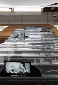 Balti paviljonis on esitatud valik kolme riigi arhitektide ja kunstnike töödest.