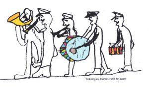 8aastase Tooma joonistus ehtis kontserdi kavalehte.