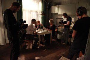 """Teater NO99 """"The Rise and Fall of Estonia"""", lavastajad Ene-Liis Semper ja Tiit Ojasoo, esietendus 23. III 2011."""