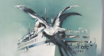 Jaan Elken. Kajakas. Õli, lõuend, 1982. Eesti Kunstimuuseum.