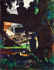 Tiiu Pallo Suislepa ja Hiiumaa akvarellid 1980ndate algusest on ilmekas näide, kuidas on transformeerunud väljamaa nipp siinsesse mulda istutatult– lüüriliseks suveelamuse hetkejäädvustuseks.