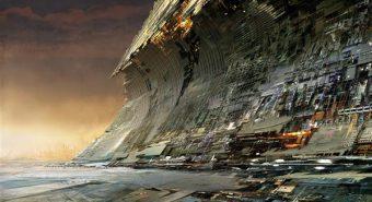 """""""Homse taeva all"""" (""""Under tomorrows sky"""") on Liam Youngi fiktiivse tulevikulinna projekt, mille raames teadlased, tehnoloogid, futuristid, ulmekirjanikud jpt visualiseerisid kujuteldavaid paiku ja maastikke."""