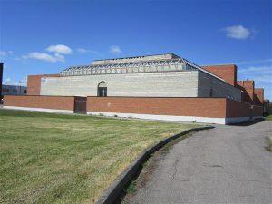Keemilise ja Bioloogilise Füüsika Instituudi (KBFI) hoone, mida võib rahvusraamatukogu väikeseks vennaks nimetada.