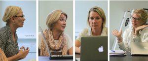 Vestlusringis osalesid Anneli Köster, Kairit Pihlak, Maris Hellrand ja Piret Hartman, ...