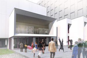 2018. aastal plaanitakse Narvas avada renoveeritud Vaba Lava teatrikeskus.