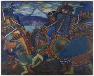 Nikolai Triik. Võitlus. 1910.