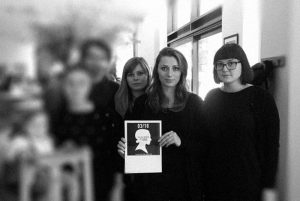 Pildil vasakult paremale: Joanna Dagmara Dobosz, Aleksandra Andrzejczyk ja Agnieszka Kunz.