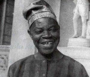 Nigeeria kirjanik AmosTutuola (1920–1997).