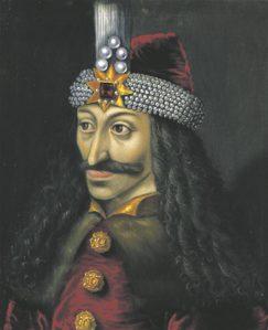 Valahhia vürst VladIIITeivastaja  ehk Vlad Dracula anonüümse kunstniku maalil (ca 1560).