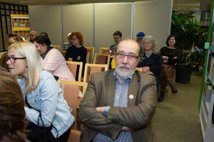 Kuhu jäid Müürilehe truud hipsterid? Suurema osa kuulajatest moodustasid raamatukogu püsikülastajad.