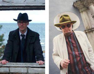 Kaur Riismaa (vasakul) ja Karl Martin Sinijärve luulelaadis võib näha konflikti, aga ka eesti luule mitmekesistumist. Dialoog on igal juhul sündinud!