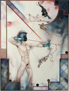 Agu Pilt. Nimeta. Akvarell, guašš, 1999.Kastellaanimaja