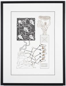Mihkel Kleis. Brainslug statuette. Ofset litograafia, 2016.