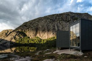 Moodsad matkahütid, Soddatjørn, Norra. KOKO arhitektid, 2013–2016.