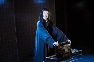 Laura Kalle kurja nõia grimmis spinndoktori dr Spinni rollis.