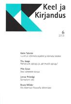 Keel ja kirjandus